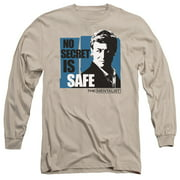 The Mentalist No Secret Is Safe Mens Long Sleeve Shirt