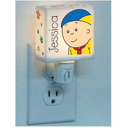 Personalized Caillou & Stars Nightlight