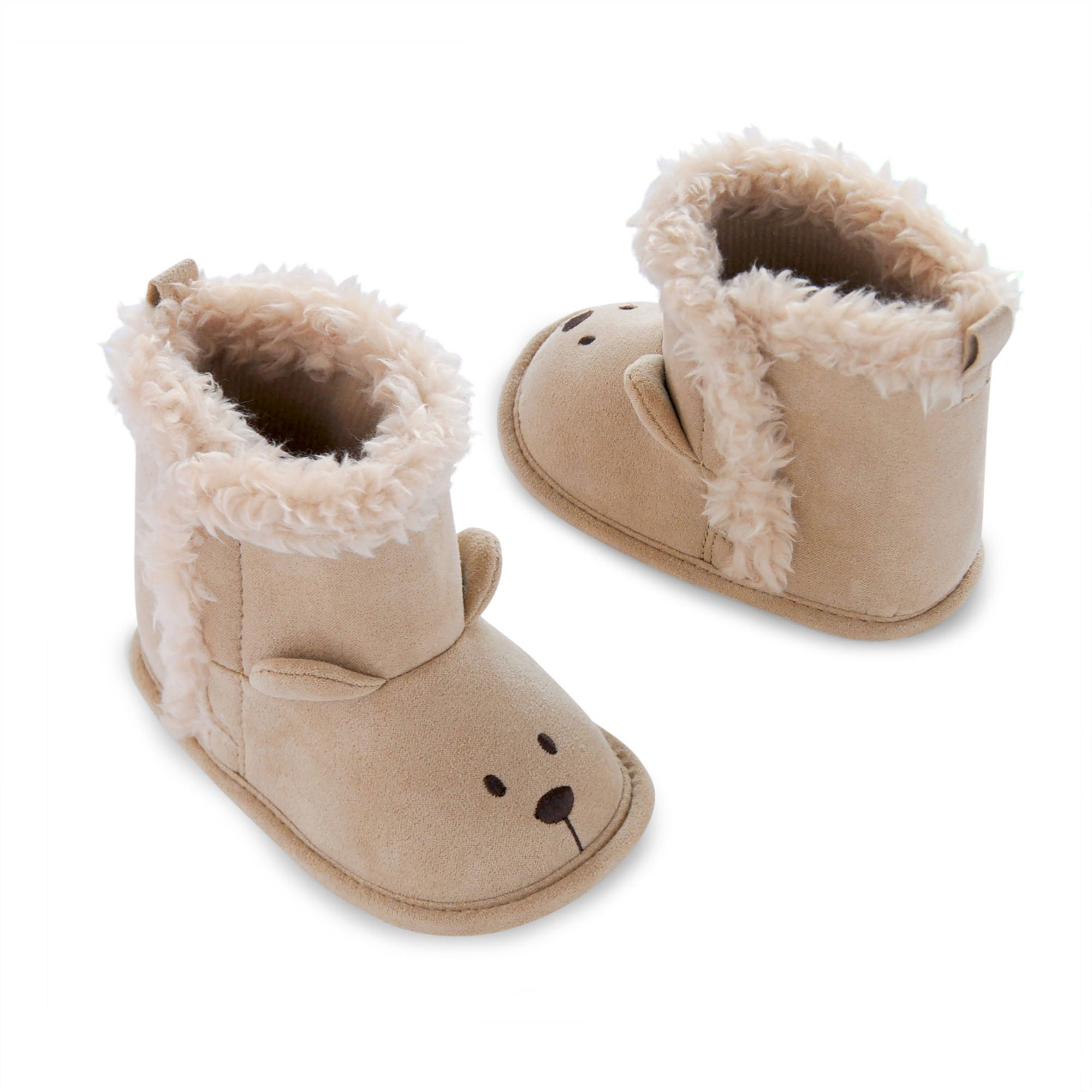 Image of Child of Mine by Carter's Newborn Baby Boys' Teddy Bear Boots