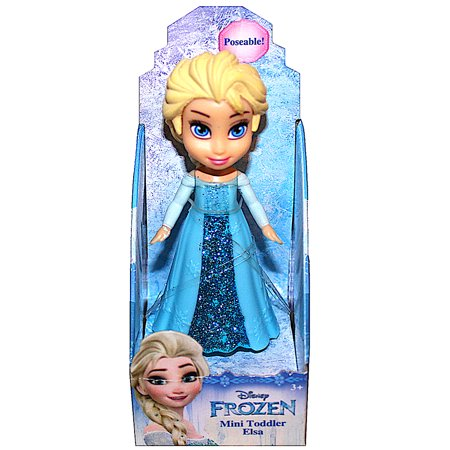 Elsa Frozen Disney Mini Toddler Doll 3