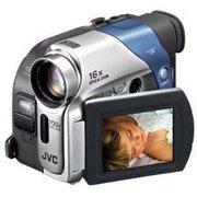 "JVC Digital Camcorder, 2.5"" LCD Screen, 1/6"" CCD"