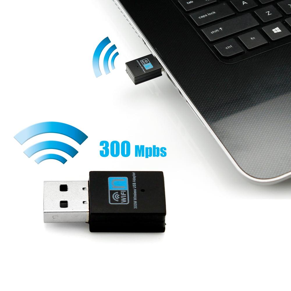 GEARONIC TM 300Mbps Mini Wireless USB Wifi Adapter LAN Internet Network Adapter 802.11n/g/b