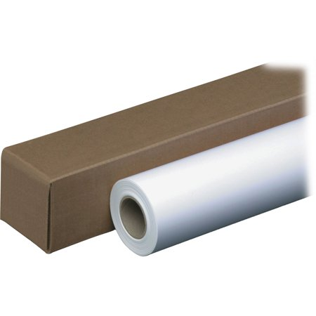 PM, PMC44136, 20lb Wide Format Inkjet Bond Paper Roll, 1 / Roll, White