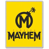 Florida Mayhem WinCraft Rectangle Pin