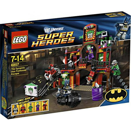 DC Universe Super Heroes The Dynamic Duo Funhouse Escape Set LEGO 6857