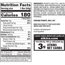 Granola & Protein Bars: Atkins Snack Bar