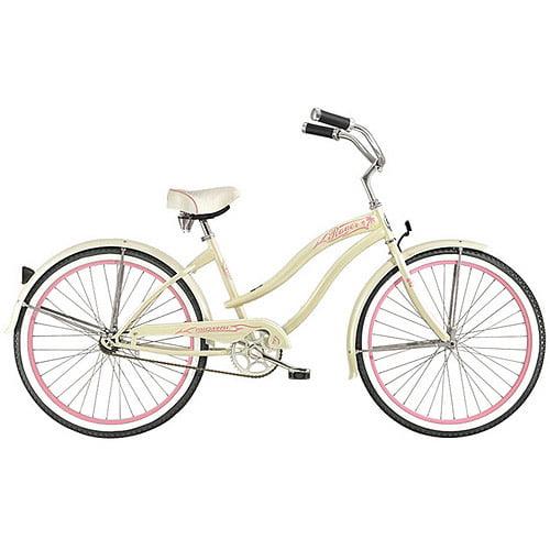 "26"" Micargi Rover GX Women's Beach Cruiser Bike, Vanilla"