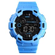 SKMEI 1472 Analog Digital Watch Luminous Outdoor Sport Watch Men Digital Watch 5Bar Waterproof Alarm Clock Cowboy Fashion Watches relogio masculino