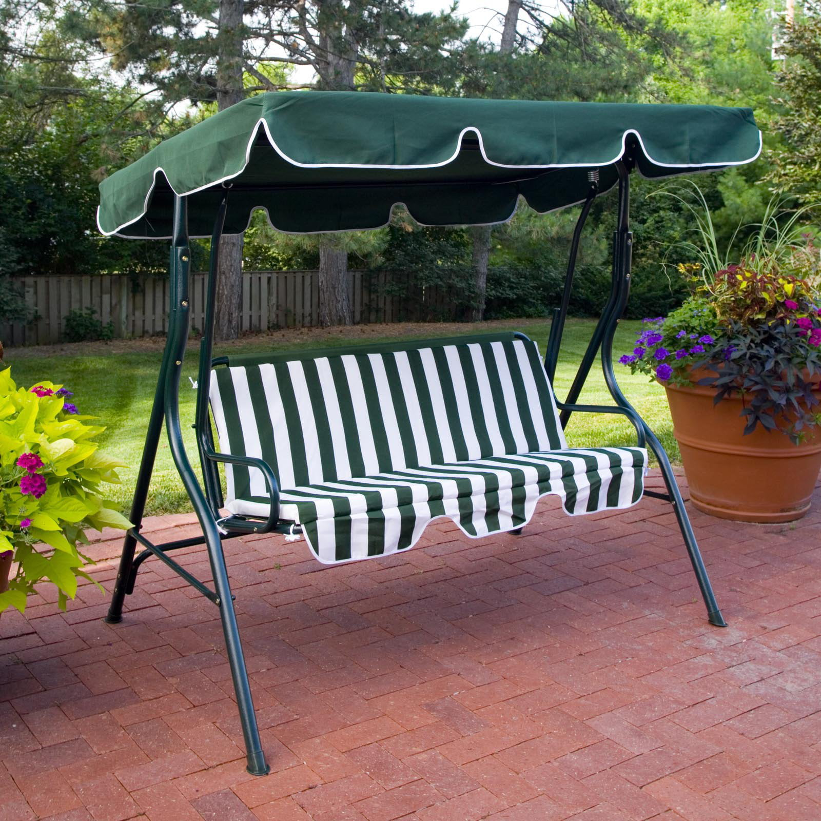Beautiful BCP Iron Patio Hanging Porch Swing Chair Bench Seat Outdoor Furniture    Walmart.com