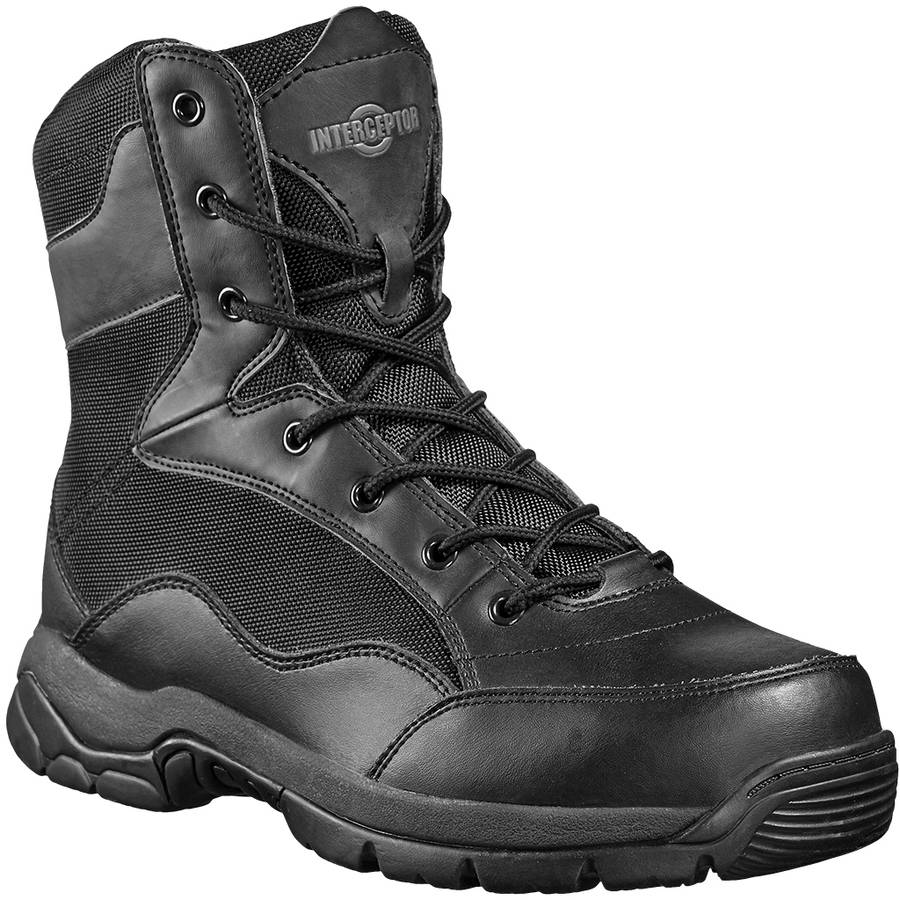"Interceptor Men's Force Steel Toe 8"" Tactical Boot"