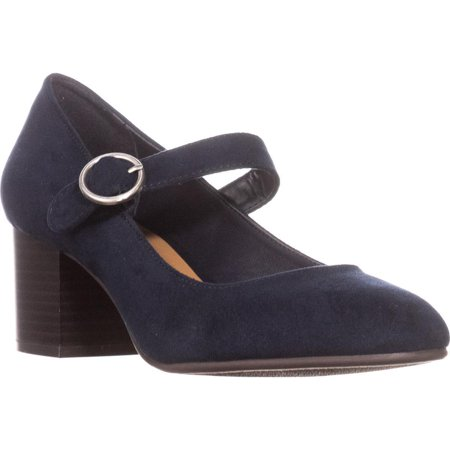Womens SC35 Jurnae Mary Jane Pumps, Navy