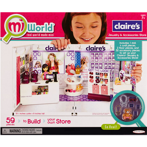 miWorld Deluxe Environment Claire's Boutique Play Set