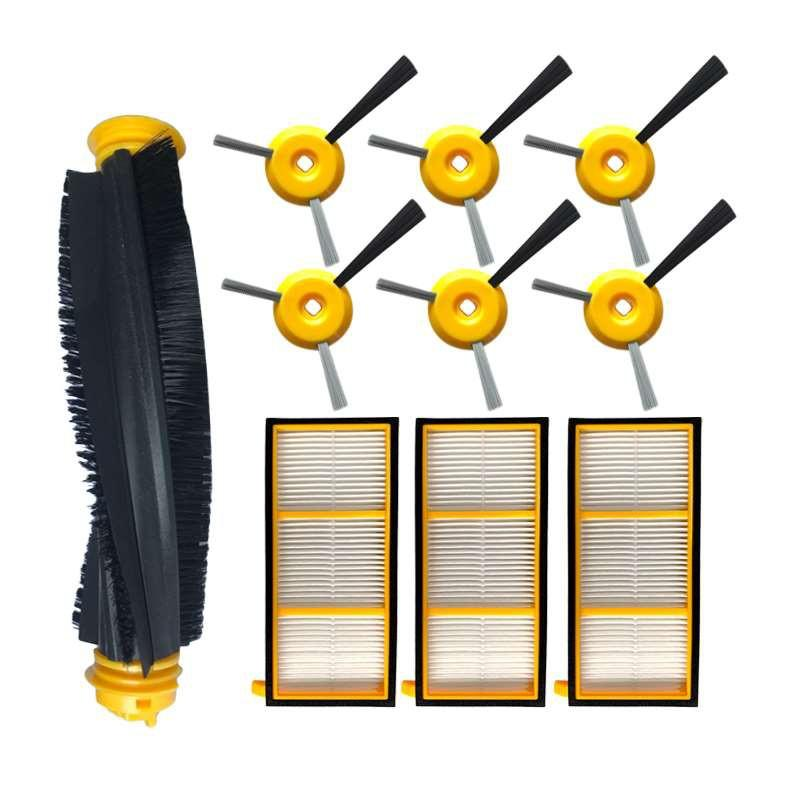 Details about  /Replacement Filter Side brushes Spare Robot Vacuum cleaner Accessories