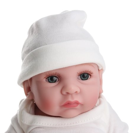 11'' High Quality Moveable Silicone Newborn Reborn Baby Dolls Lifelike Realike Vinyl Alive Baby Doll for Toddler Kids - image 2 of 10