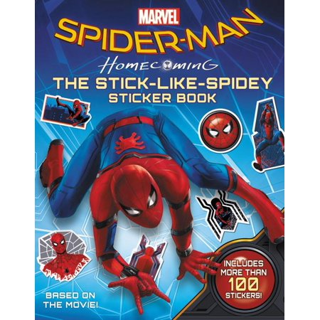 Spider-Man: Homecoming: The Stick-Like-Spidey Sticker