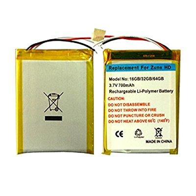 microsoft zune hd replacement battery