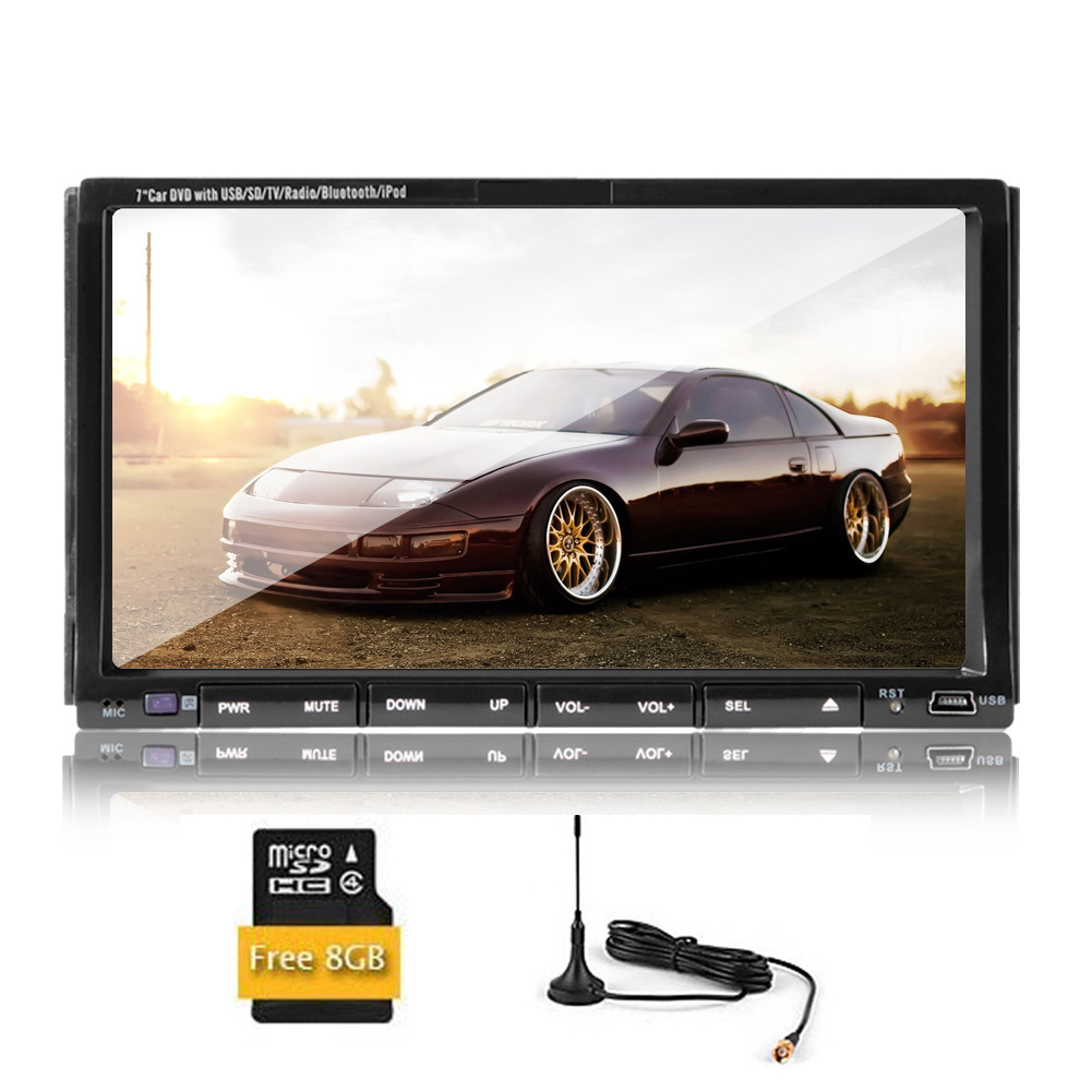 Multimedia Vehicle Accessory CD Video Receiver FM AM Car ...