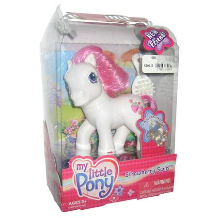 My Little Pony G3 Strawberry Swirl New Friend Hasbro Figure Toy
