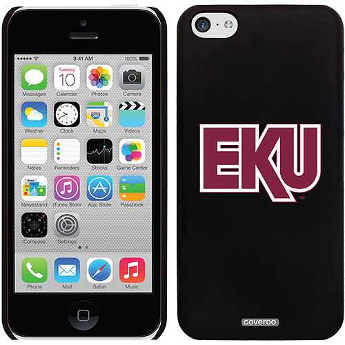 Eastern Kentucky EKU Design on iPhone 5c Thinshield Snap-On Case by Coveroo