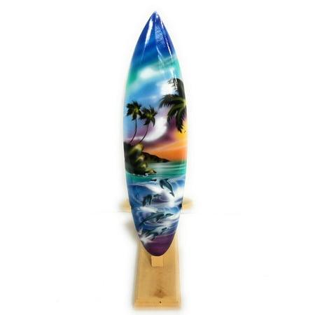 Surfboard w/ Stand Island Lifestyle Design 12