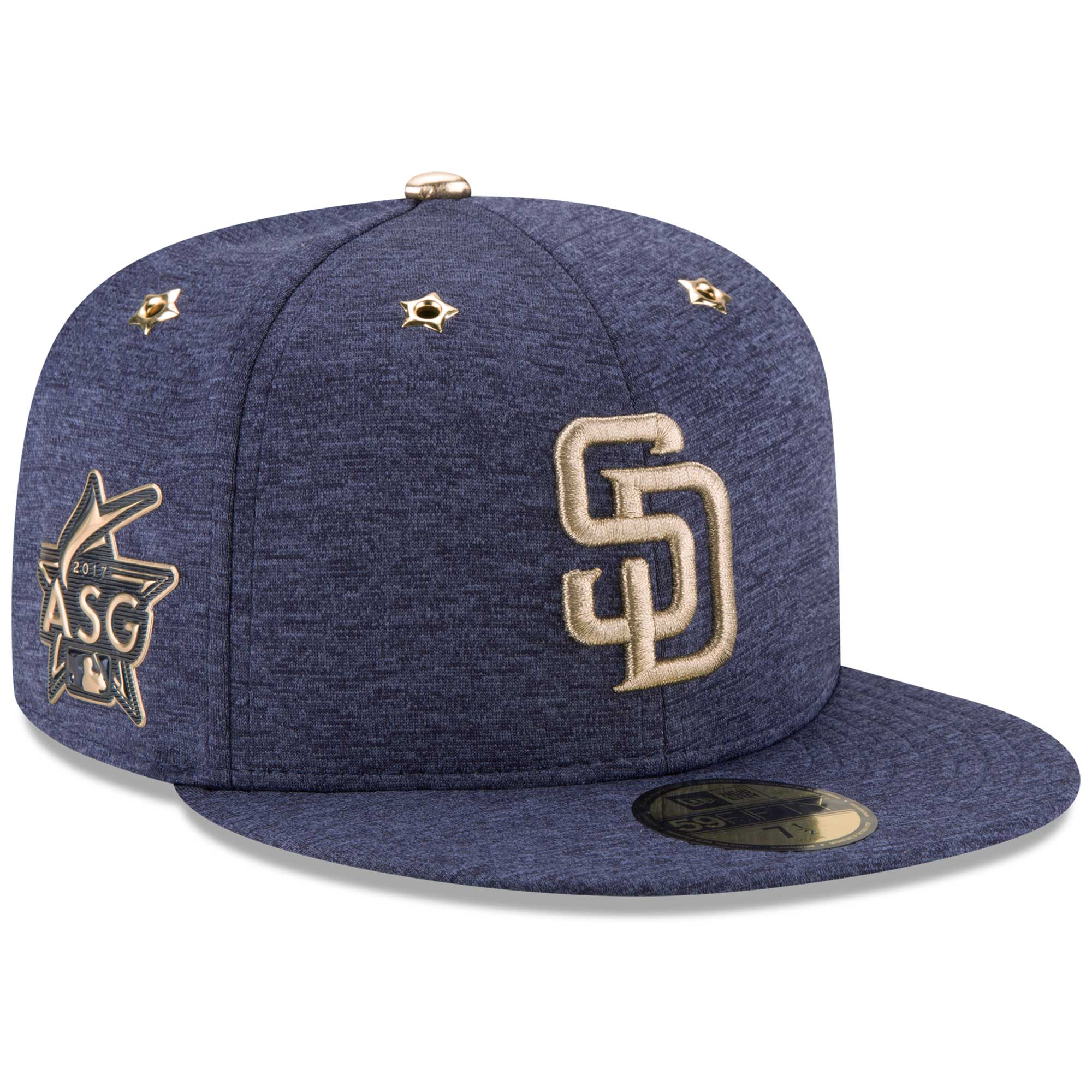 befae5467f9 ... promo code san diego padres new era 2017 mlb all star game side patch  59fifty fitted