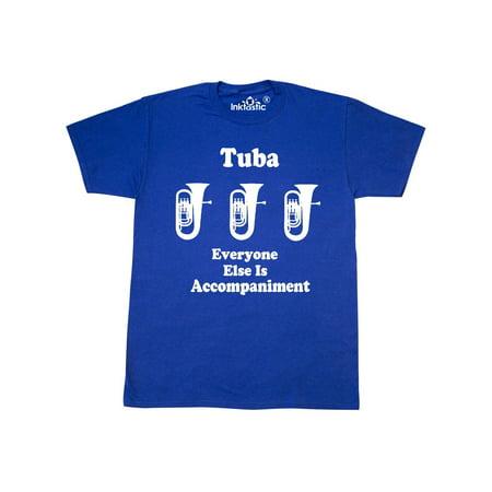 Funny Tuba Player Music Joke - Music Funny Tee T-shirt