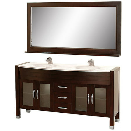 45 Inch Bathroom Vanities wyndham collection daytona 63 inch double bathroom vanity in