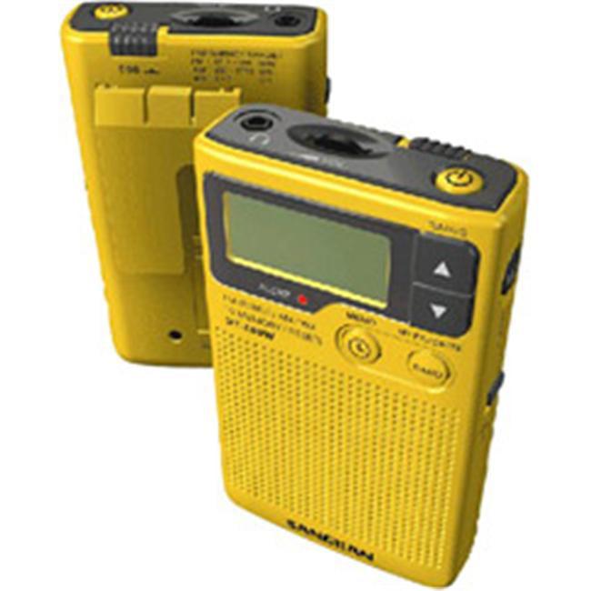 Sangean DT-400W-AM/FM Digital Weather Alert Pocket Radio