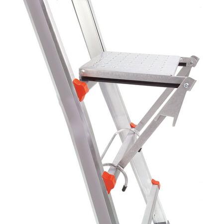 Little Giant Work Platform, 375 lbs capacity, ladder accessory