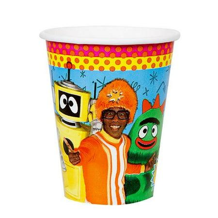 Yo Gabba Gabba! 9oz Paper Cups (8ct)](Yo Gabba Gabba Party City)