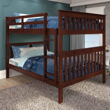 Harriet Bee Catharine Full Over Full Bunk Bed Walmart Com