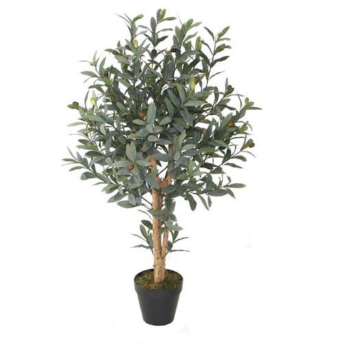 Northlight Seasonal Decorative Artificial Olive Tree in Pot