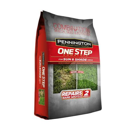 Pennington One Step Complete Sun and Shade Grass Seed; 8.3 lbs 10 Lbs Sun Seed
