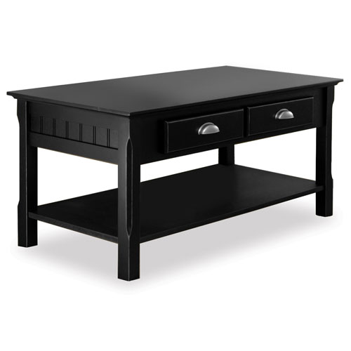 Timber 3 piece coffee console and end tables value bundle for Black wood coffee table and end tables