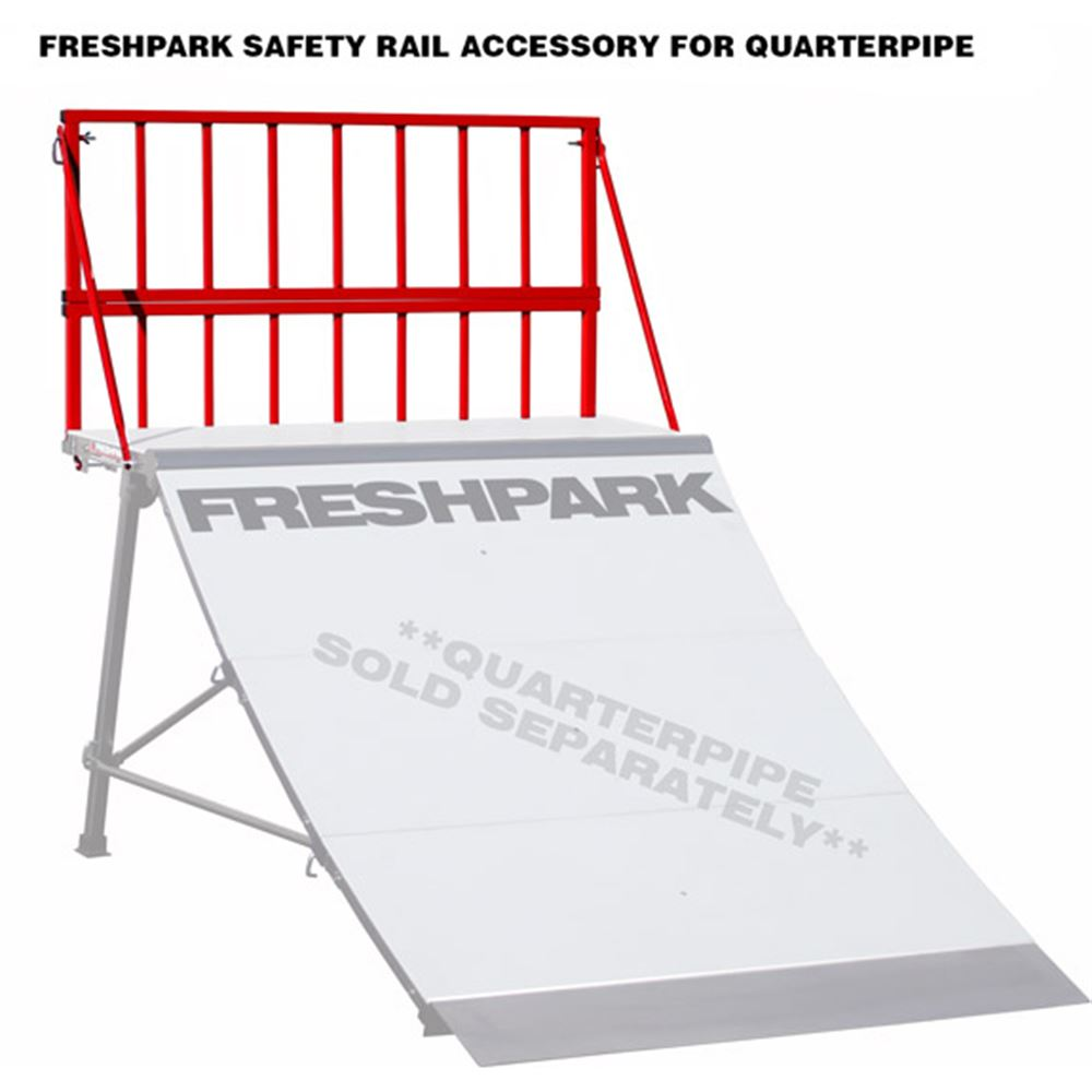 Freshpark Skateboard Ramp Safety Rail