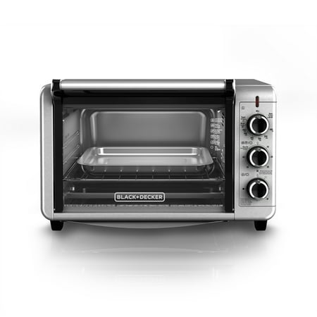 Black Decker 6 Slice Convection Countertop Toaster Oven Stainless Steel To3210ssd
