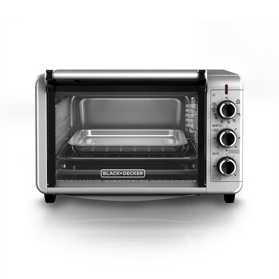Black Decker 6 Slice Convection Countertop Toaster Oven