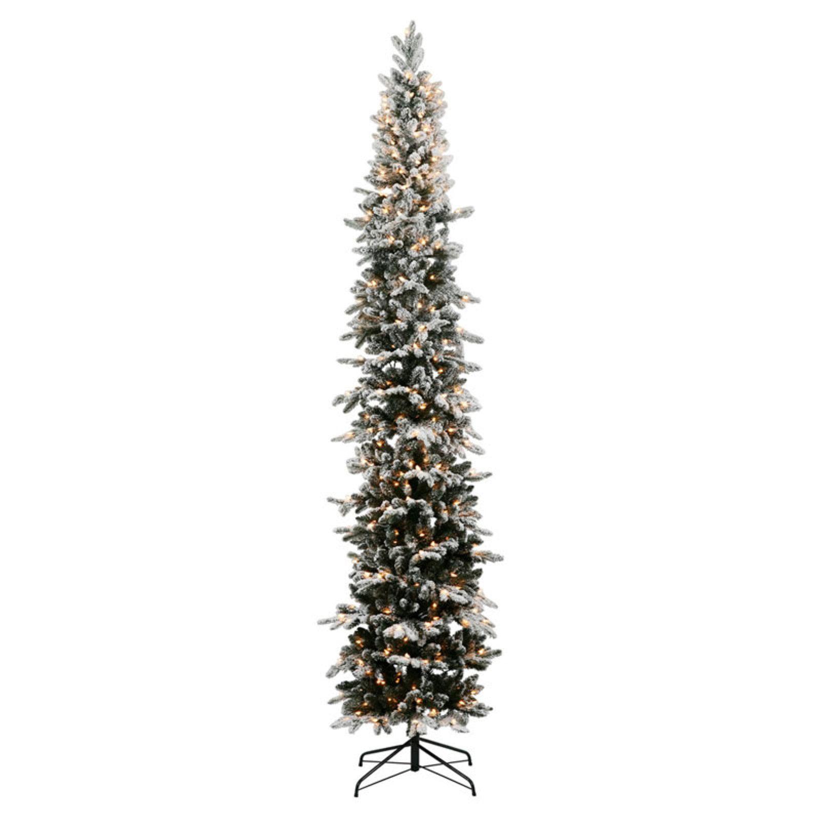 Tannenbaum Led.Vickerman Flocked Tannenbaum Led Pre Lit Christmas Tree