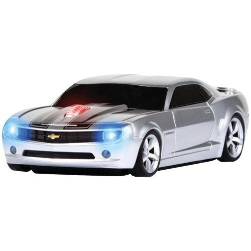 Road Mice HP-11CHCCSXK Hp-11chccsxk Camaro Silver/backwrls Stripes Wl Optical Mouse 2.4ghz
