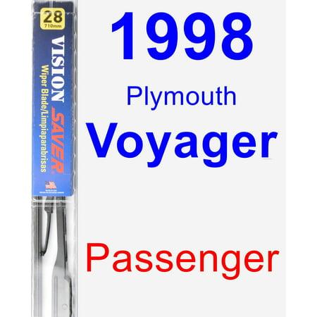 1998 Plymouth Voyager Passenger Wiper Blade - Vision Saver