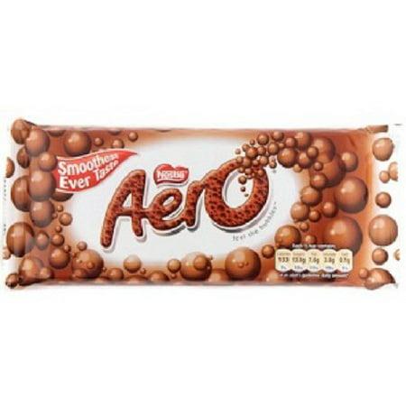 Nestle Aero Milk Chocolate Bar-pack 4 Bars](Nestle Halloween)