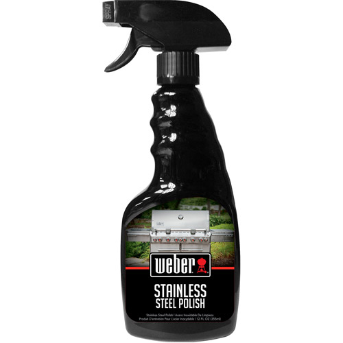 Weber Stainless Steel Cleaner, 12 oz