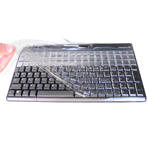 Cherry KBCV-4100N Plastic Keyboard Cover for G84-4100 models w/out Windows keys