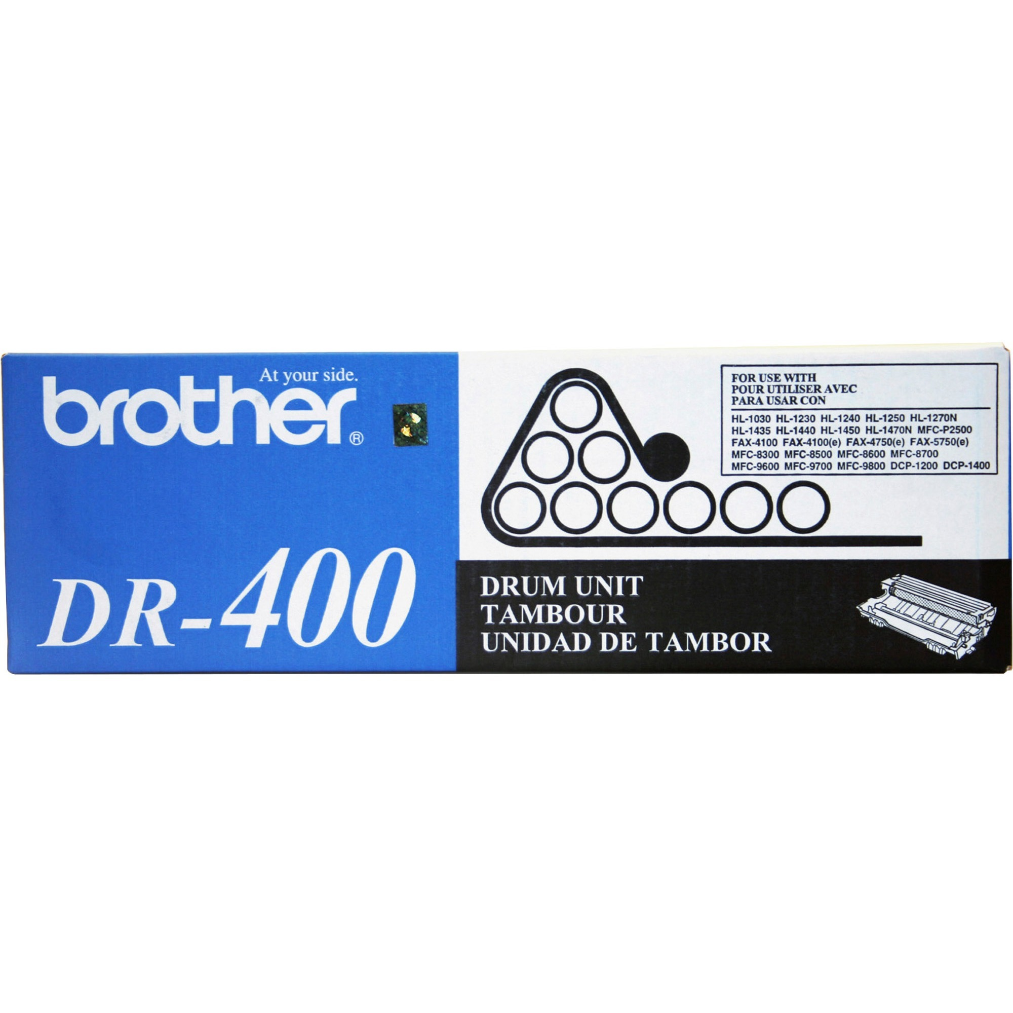 Brother, BRTDR400, DR400 Replacement Drum Unit, 1 Each