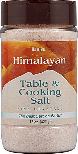 Aloha Bay Himalayan Table & Cooking Salt, 15 Oz by Aloha Bay