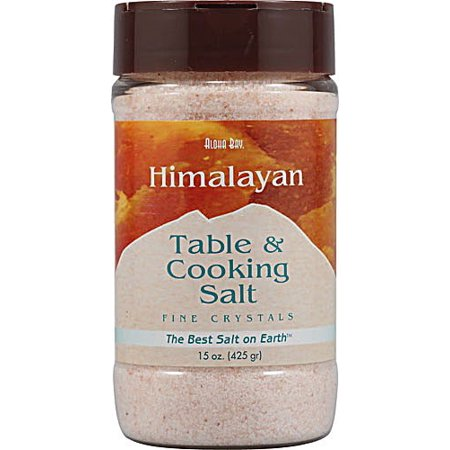 Aloha Bay Himalayan Table & Cooking Salt, 15 (Aloha Bay Salt Mill)