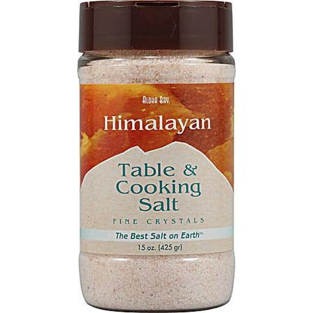 Aloha Bay Himalayan Table & Cooking Salt, 15 Oz (Best Salt For Cooking)