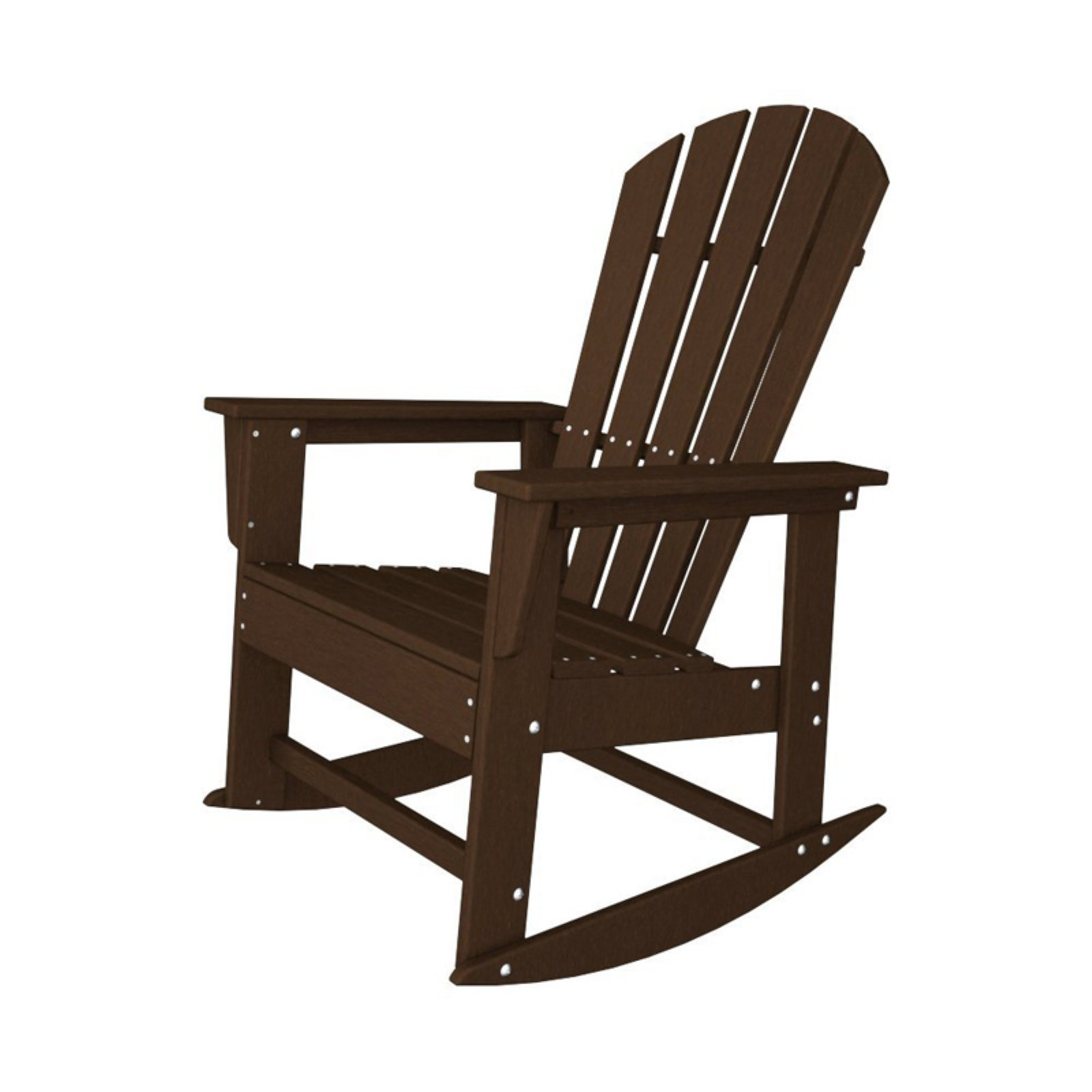 POLYWOOD® South Beach Recycled Plastic Adirondack Rocking Chair