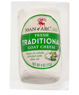 Goat Cheese, Fresh Traditional (Joan of Arc) 4 oz (113g) by