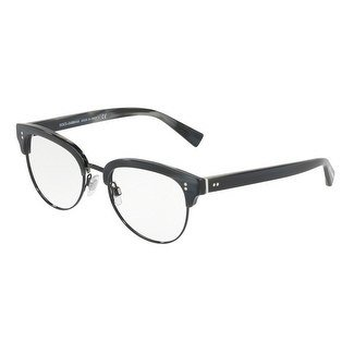Eyeglasses Dolce & Gabbana DG 3270 3117 STRIPED BLUE/BLACK By Dolce & Gabbana Eyeglasses